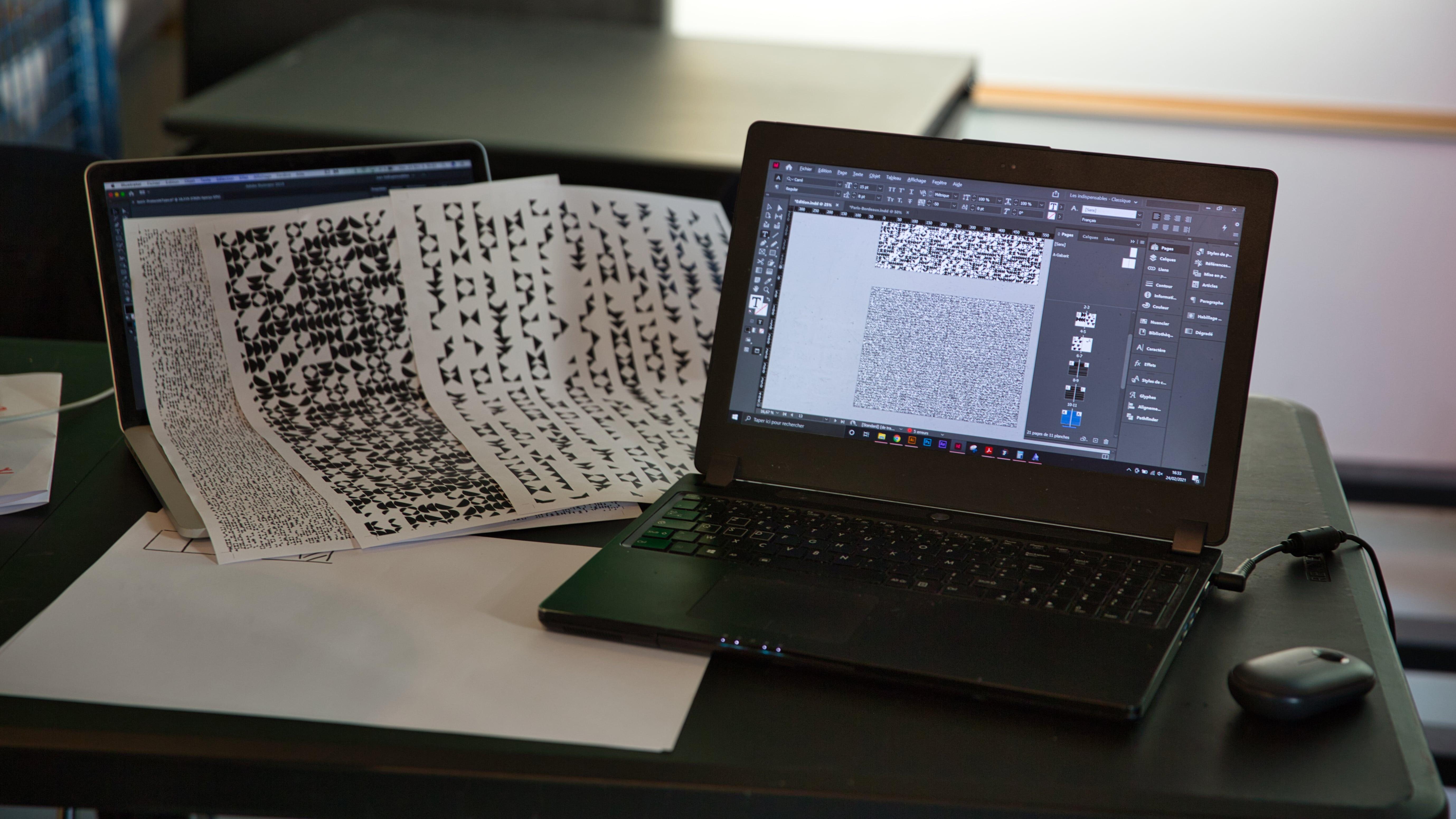 Plaquette DCGE UX design