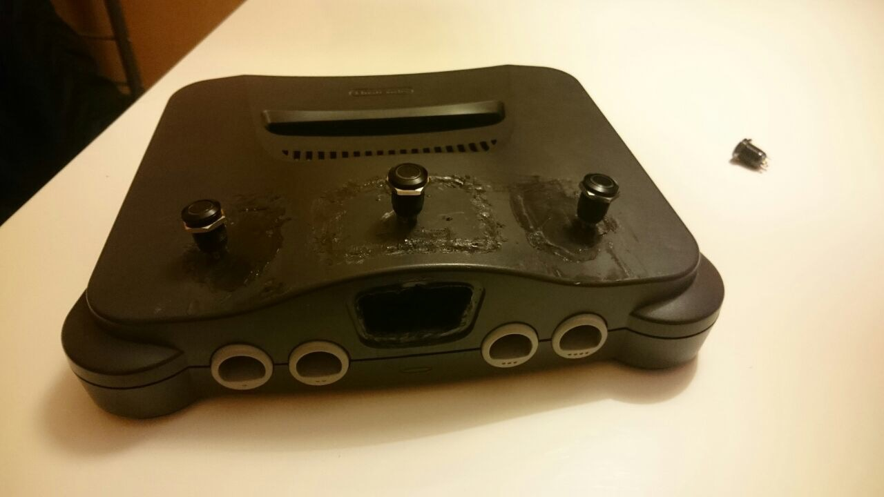 Look hat my N64 Mod :) | Recalbox Forum