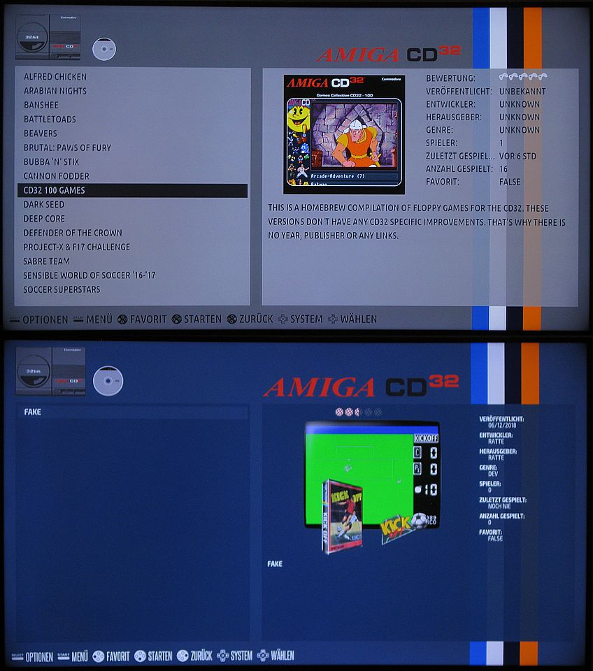 AMIGA CD32 EMULATION - HOW TO - | Recalbox Forum