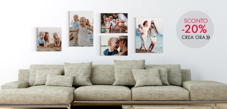 Stampe foto su Tela Canvas