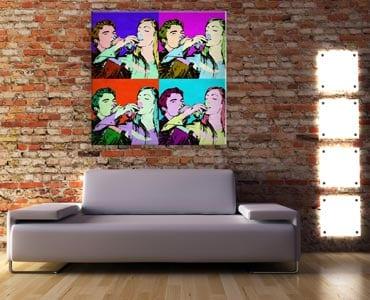 Stampa su Kapafix pop art personalizzata con le tue foto preferite