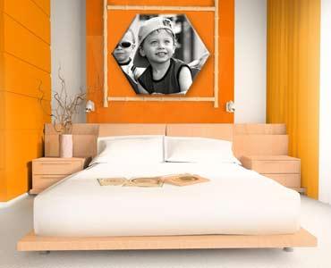 Stampa su tela sagomata personalizzata con le tue foto preferite