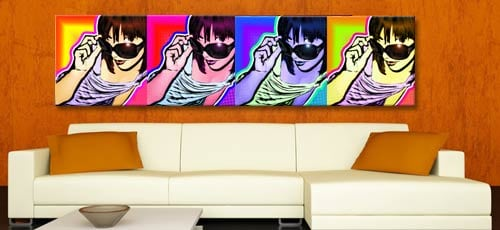 Tela canvas pop art
