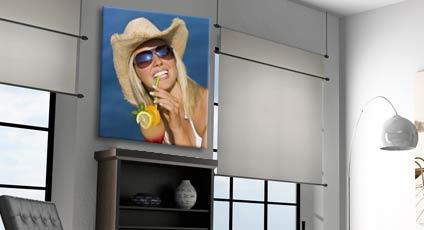 Tela canvas personalizzata con le immagini che preferisci