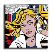 Stampa pop art su tela personalizzata con foto