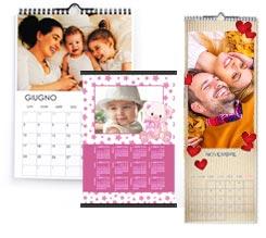 Calendari da Parete Personalizzati
