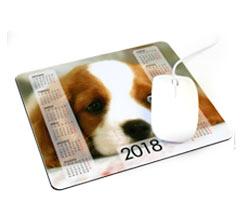 Tappetini Mouse Calendario Rettangolari