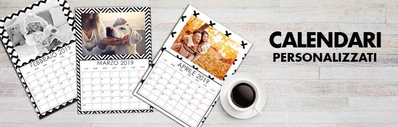 Calendari personalizzati - Calendario da tavolo con foto proprie ...