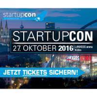 StartupCon 2016 - Die Gründerkonferenz in Köln