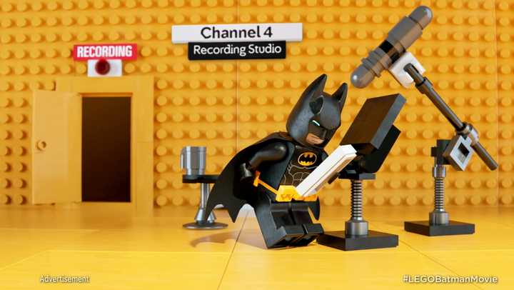 Lego Batman takes over C4
