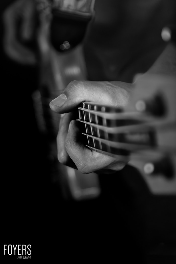 bass guitar-1 - copyright Robert Foyers