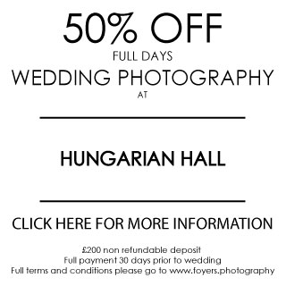 Hungarian Hall great wedding venue