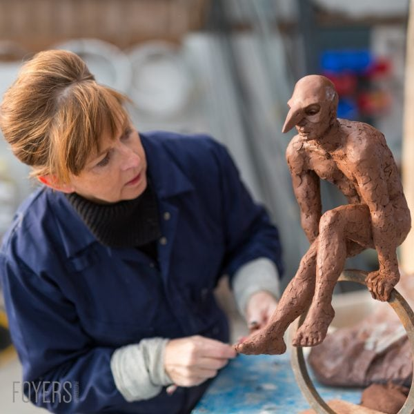 Commissioned by Kate Denton – Sculptor