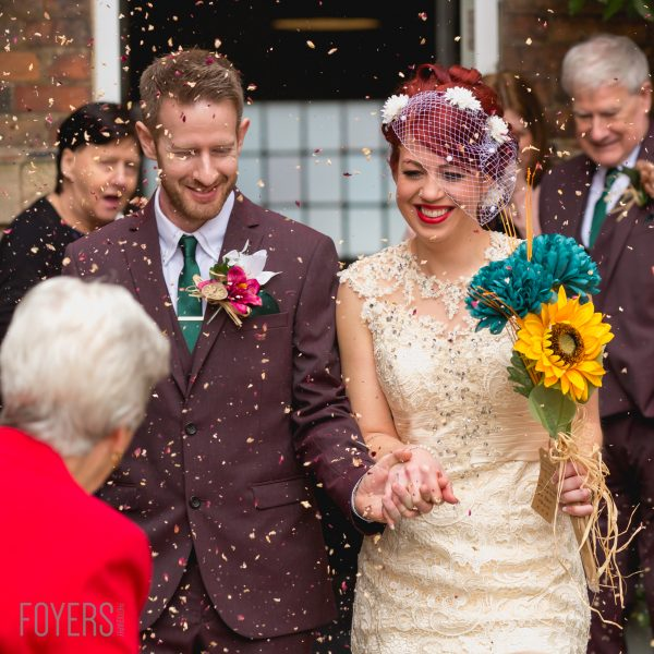 Wedding of Cat and Steven at The West Mill Derby