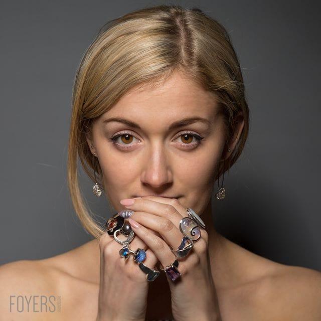 Photoshoot for Jackey L Jewellers @jackeyljewellers with model @steffigrace.b