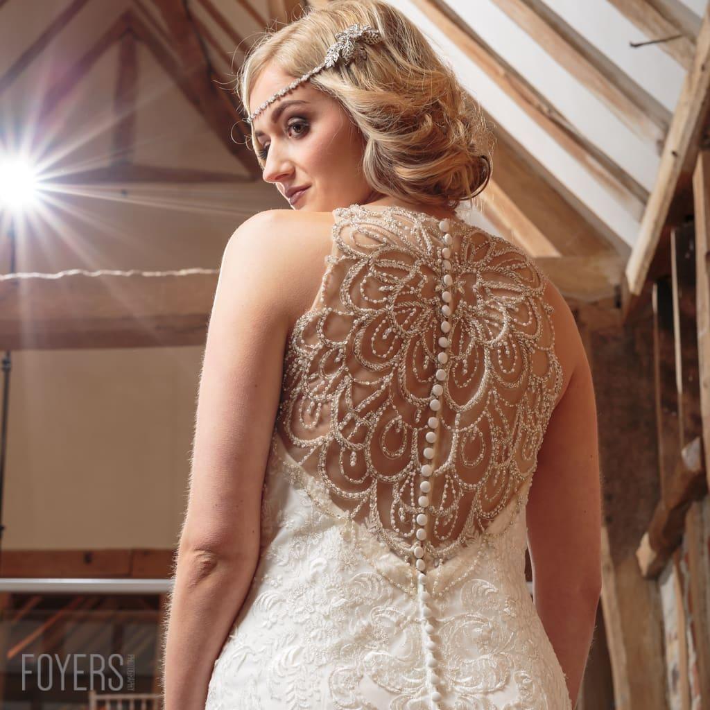 Suffolk Ceremony magazine Bridal photoshoot at Tudor Barns