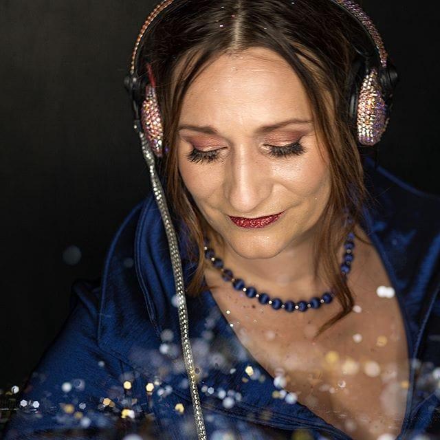 Tallulah Goodtimes, amazing DJ @tallulahgoodtimes @cherrypie_makeovers @britvix
