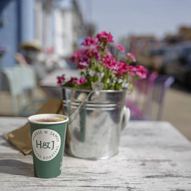 Good coffee, perfect way to spend a Sunday morning @harrisandjamesaldeburgh