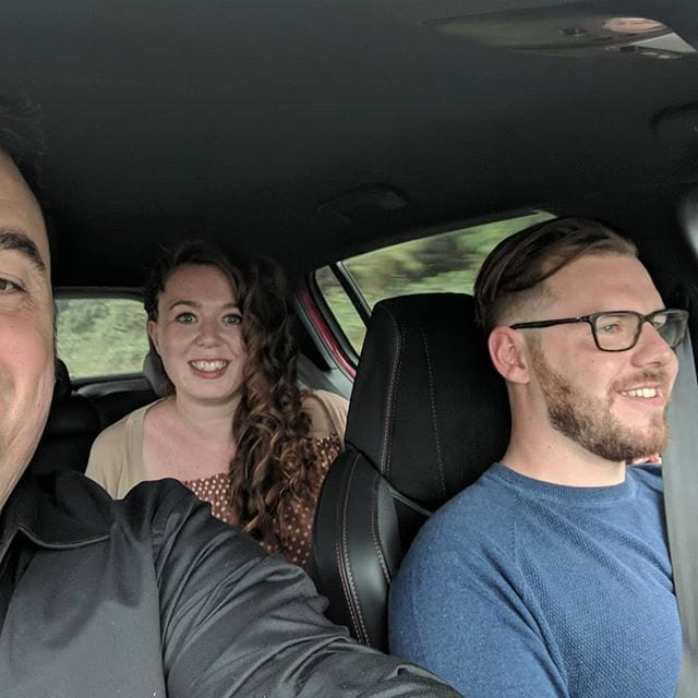 Rather unique drive to a wedding with two amazing people @independentatlas