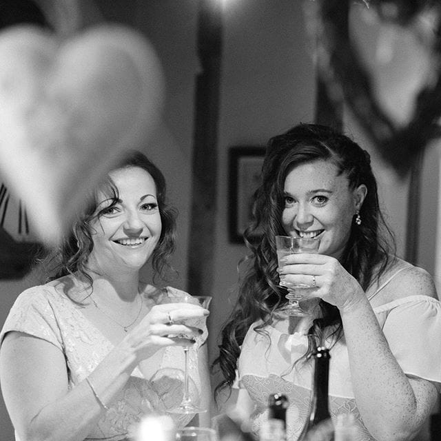 The beautiful bride and one of her bridesmaids, such a fun and interesting wedding to be a part of @independentatlas