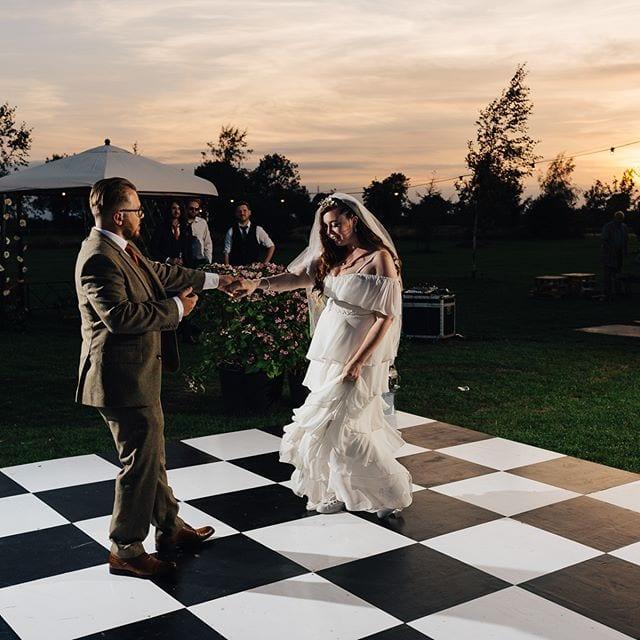 Niall and Bryony Suffolk wedding