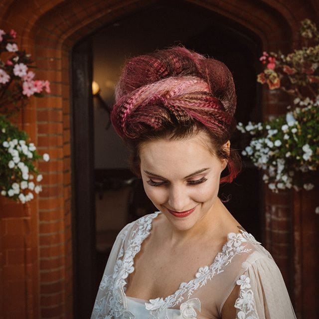 Amazing wedding hair was done by Mel and team from Innov8, Saxmundham for bridle dress photoshoot at Woodhall Manor with @martin_dobson_couture @innov8hair @woodhallmanor @faybulous7 1 . . . . .