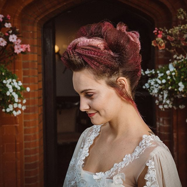 Amazing wedding hair was done by Mel and team from Innov8, Saxmundham for bridle dress photoshoot at Woodhall Manor with @martin_dobson_couture @innov8hair @woodhallmanor @faybulous7 2 . . . . .
