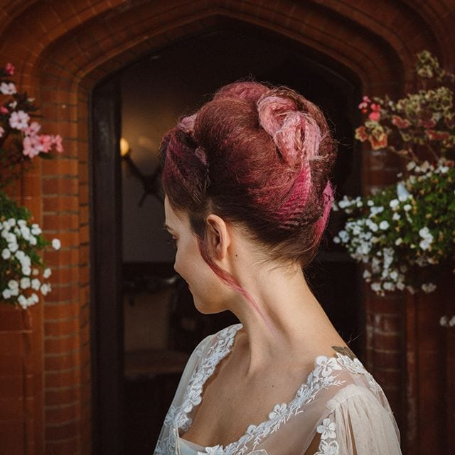 Amazing wedding hair was done by Mel and team from Innov8, Saxmundham for bridle dress photoshoot at Woodhall Manor with @martin_dobson_couture @innov8hair @woodhallmanor @faybulous7 3 . . . . .