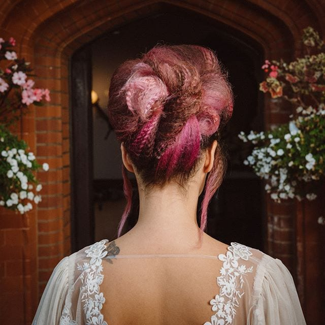 Amazing wedding hair was done by Mel and team from Innov8, Saxmundham for bridle dress photoshoot at Woodhall Manor with @martin_dobson_couture @innov8hair @woodhallmanor @faybulous7 5 . . . . .