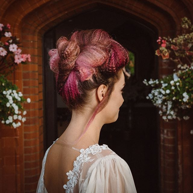 Amazing wedding hair was done by Mel and team from Innov8, Saxmundham for bridle dress photoshoot at Woodhall Manor with @martin_dobson_couture @innov8hair @woodhallmanor @faybulous7 6 . . . . .