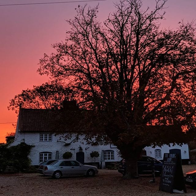 Amazing food last night at the Gin Trap and wonderful sunrise this morning @thegintrap