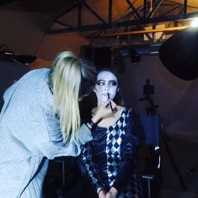 Brilliant shoot last night with Bella, thanks to Steffi for doing the make-up.
