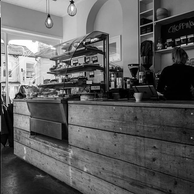 Enjoying a coffee in Aldeburgh after a very busy few weeks.
