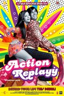 Poster of Action Replayy