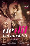 Poster of Ae Dilhai Mushkil