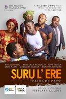 Poster of Suru l'ere