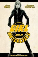 Poster of The Girl on a Motorcycle