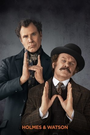 Picture of Holmes and Watson