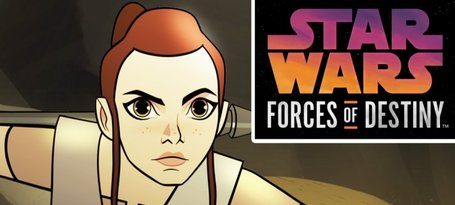 """Star Wars Forces of Destiny"" Debuts on YouTube"