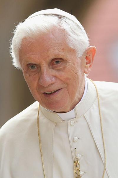 Photo of Pope Benedict XVI