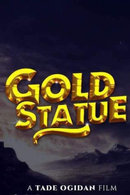 Poster of Gold Statue