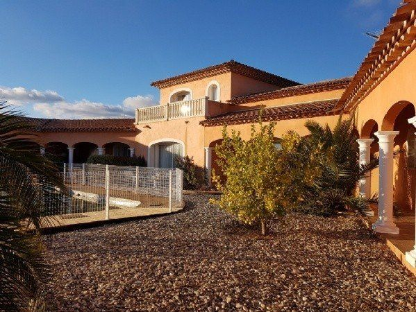 High Quality Villa With 240 m2 Of Living Space On 3600 m2 With Views, 2 Garages And Pool.