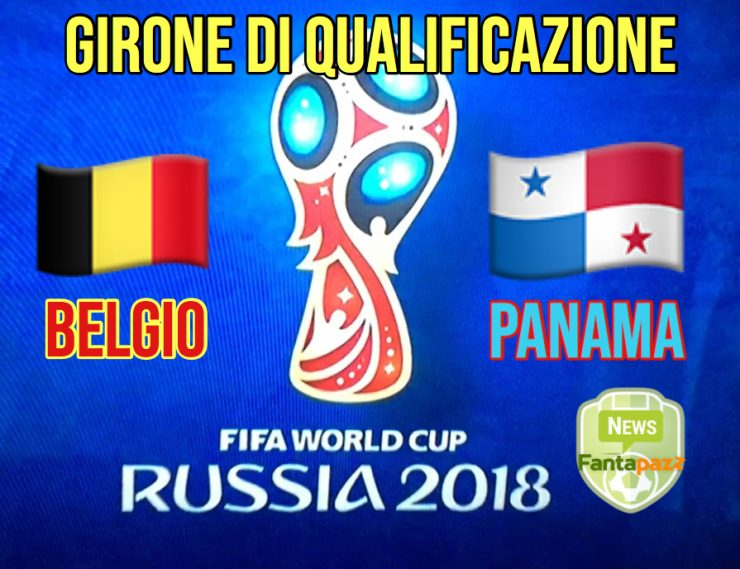 Belgio - Panama in Russia 2018