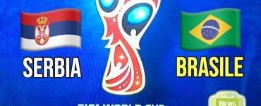 Serbia - Brasile in Russia 2018