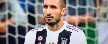 Chiellini in Juventus - Lazio 2018/19