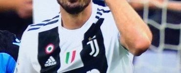 Chiellini Juventus Lazio 2018 19