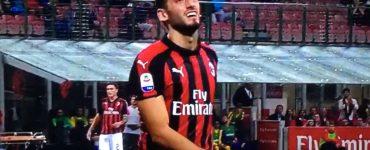 Calhanoglu In Milan Roma 2018 19 5