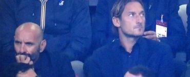 Totti E Sabatini In Milan Roma 2018 19