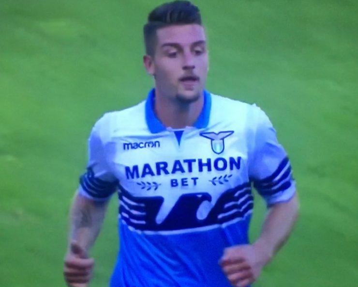 Milinkovic Savic In Lazio Genoa 2018 19