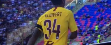 Kluivert In Bologna Roma 2018 19 1